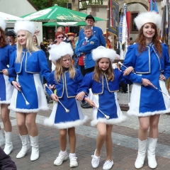 Gruppenfoto, Mini- und Maxi-Majoretten